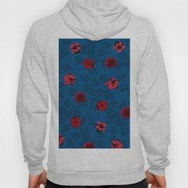 Red Flowers Hoody