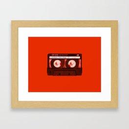 Mixtape: Love Songs Framed Art Print