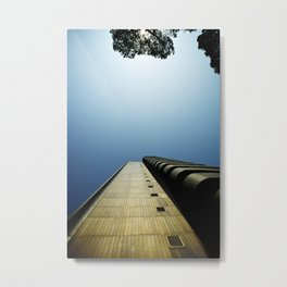 Contemporary building Metal Print