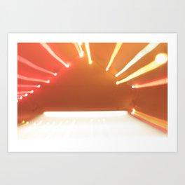 beaming Art Print