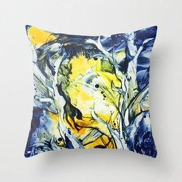 BlueHour Throw Pillow