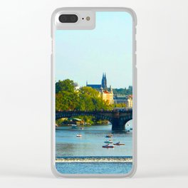 Vltava | Prague Clear iPhone Case