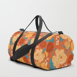 Paint by Number in Orange Duffle Bag