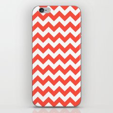 Red Chevron iPhone & iPod Skin