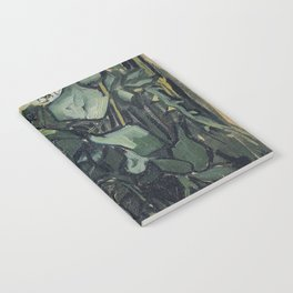 Roses by Vincent van Gogh Notebook