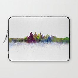 Los Angeles City Skyline HQ v3 Laptop Sleeve