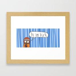 Winter Kirk Framed Art Print