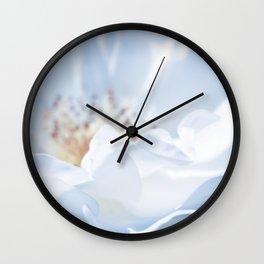 Blue Texture II Wall Clock