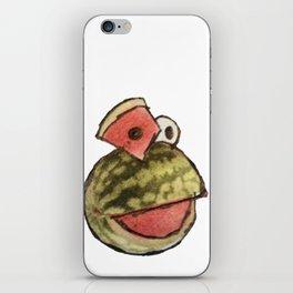 Watermelon Frog iPhone Skin