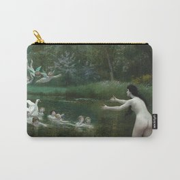 LEDA AND THE SWAN - JEAN-LEON GEROME Carry-All Pouch