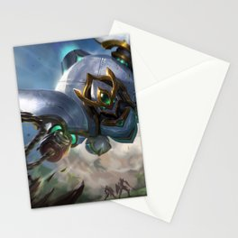 Lancer Paragon Blitzcrank League Of Legends Stationery Cards