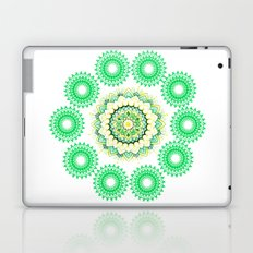 Anahata Flower Mandala Laptop & iPad Skin
