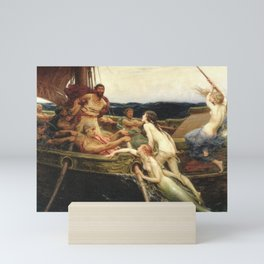 Odyssey By James Herbert Draper Mini Art Print