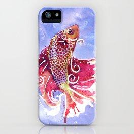 Fish Swirl iPhone Case