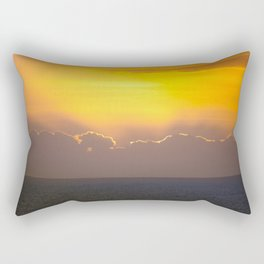 Makaha Sunset Rectangular Pillow