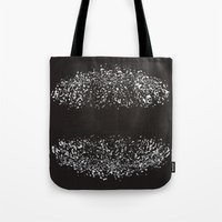 ufo Tote Bags featuring ufo by Miamaria Oedegaard