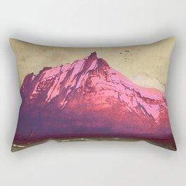 Sea.Mountains.Light . i. Rectangular Pillow