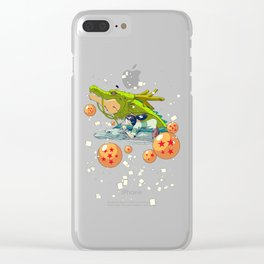 Dragons Clear iPhone Case