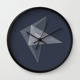 plane. Wall Clock