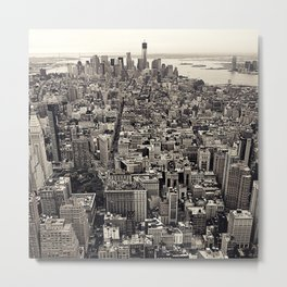 the city Metal Print