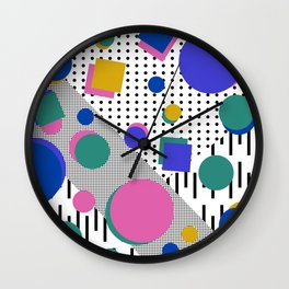 Born in the 80's Wall Clock