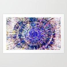Acrylic Explosion Art Print