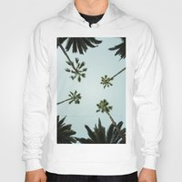 palm trees Hoodies featuring Palm trees by chitoteno