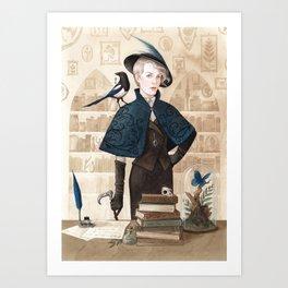 Magpie ~ A Compendium Of Witches Art Print