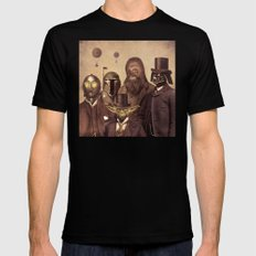 Victorian Wars  - square format MEDIUM Mens Fitted Tee Black