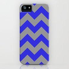 Chevron Navy Slim Case iPhone (5, 5s)