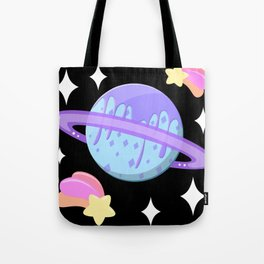 Melty Minty Planet Tote Bag