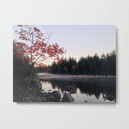 Jordan Pond, Early Autumn Metal Print