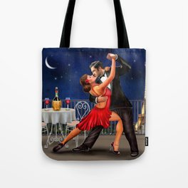 Dancing Under the Stars Tote Bag