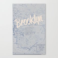 Brooklyn Canvas Print