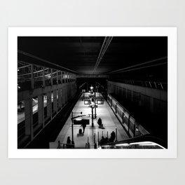 Underground 3 Art Print