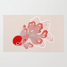 Red cap Oranda Rug