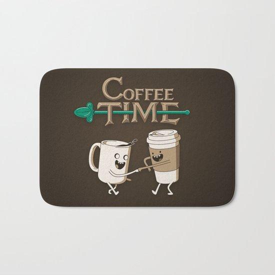 Coffee Time! Bath Mat