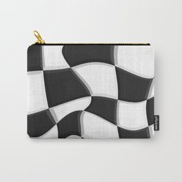 Black and White, No. 7 Carry-All Pouch