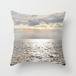 Open Seas Throw Pillow