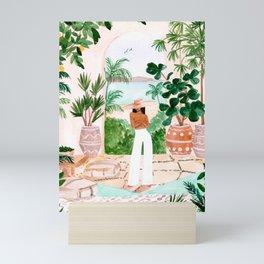 Peaceful Morocco II Mini Art Print