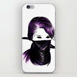 Love tat iPhone Skin