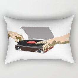 The Creation of Music Rectangular Pillow