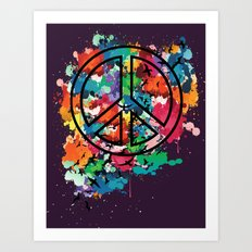 Peace & Freedom Art Print