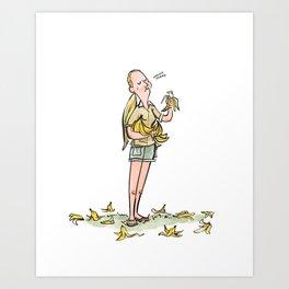 Jane Goodall Art Print