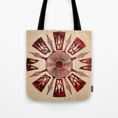 dashása redstone mandala Tote Bag