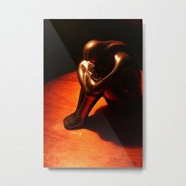 Statuette Metal Print