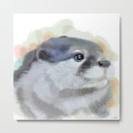 Otter Colors Metal Print