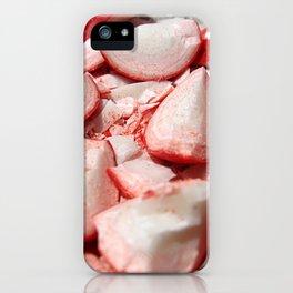 Shattered Fireballs iPhone Case