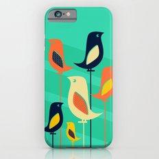 Mid Century Birds Slim Case iPhone 6