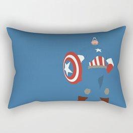Steve Rogers Rectangular Pillow